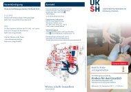 Programm Referenten - UKSH Universitätsklinikum Schleswig ...