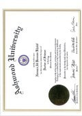 Doctorate Dissertation. Felidae Arabica. by: Norman Ali Bassam Khalaf. Doctor of Science. Ashwood University. USA. 2007 - Page 3