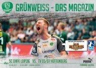Grün-Weiss - Das Magazin der SC DHfK-Handballer - SC  DHfK vs. TV 05/07 Hüttenberg