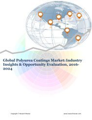 Global Polyurea Coatings Market (2016-2024)- Research Nester