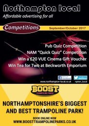 Northampton Local Flick Book  September/October