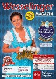 Wesselinger Stadt Magazin