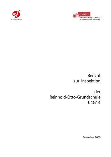 Bericht zur Schulinspektion 2009 - Reinhold-Otto-Grundschule