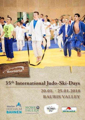 2018 Raurisertal Judo Ski Woche engl web