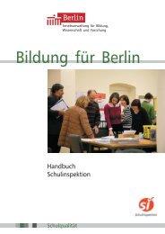 Handbuch Schulinspektion 2009
