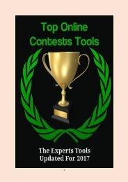 Top Online Contests Tools