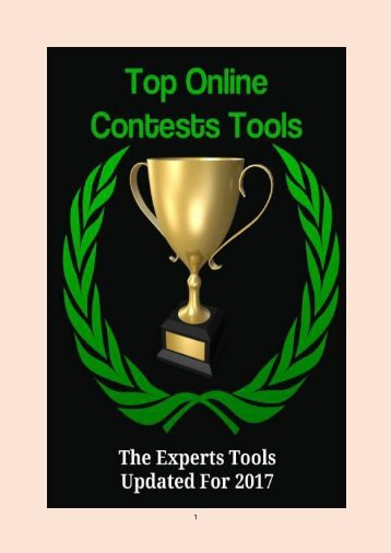 Top Online Contests Tools