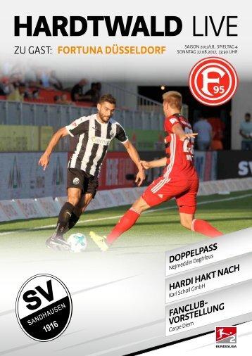 Hardtwald Live, Nr. 2, 17/18, SVS - Fortuna Düsseldrof