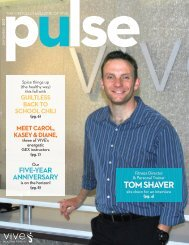 September Pulse   VIVE Health and Fitness