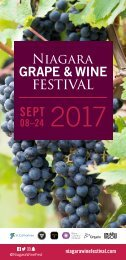 Niagara Grape & Wine Festival Guide
