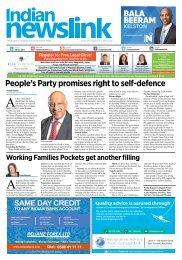 Indian Newslink Sept 1 2017 Digital Edition