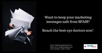 ophthalmologists mailing database