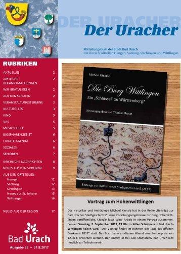 Der Uracher KW 35-2017