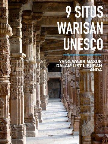 Tiket2 - 9 Situs Warisan Unesco yang Wajib Masuk Dalam List Liburan Anda
