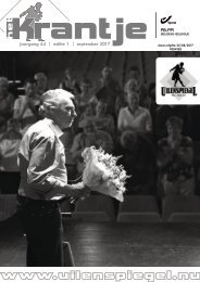 Krantje 44-1 voorstelling programmatie 2017-2018