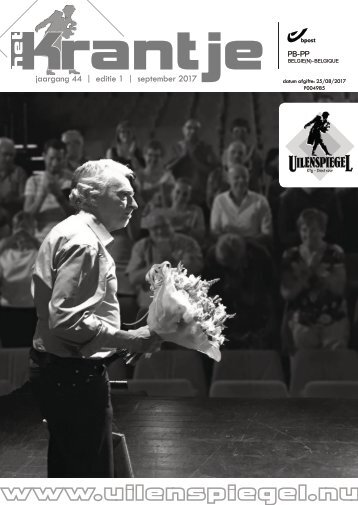 Krantje 0 - voorstelling programmatie 2017-2018