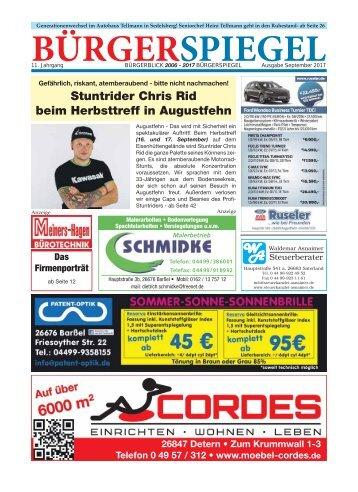 September 2017 | Bürgerspiegel