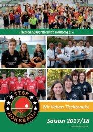 TTSF Saisonheft 2017/2018