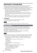 Sony NW-A3000 - NW-A3000 Istruzioni per l'uso Polacco - Page 2