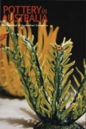 Pottery in Australia Vol 42 No 1 Autumn 2003