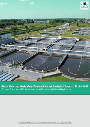 Global Water and Waste Water Treatment Market Analysis and Forecast
