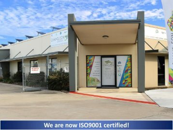 We are now ISO9001 certified! - Chameleon Group