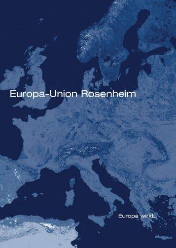 europa-union deutschland - EUROPA-UNION - Kreisverband ...
