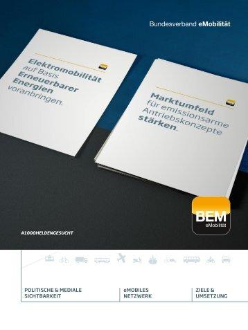 BEM Imagebroschüre