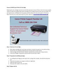 Process to Refill Canon Printer Ink Cartridge
