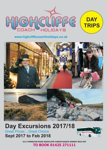 2017-18 -  Day Excursion Brochure edition