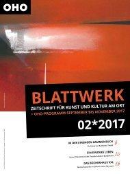 BLATTWERK AUSGABE 02*2017