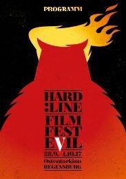 HARD:LINE Film Festival #5 - Programmheft
