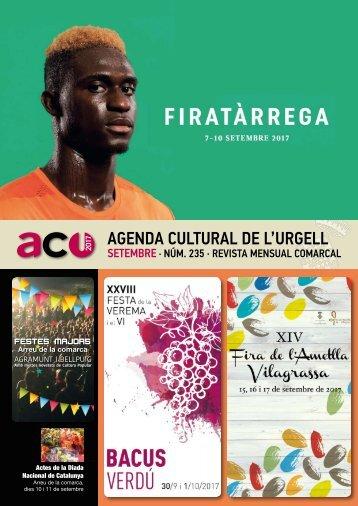 Agenda SETEMBRE 2017