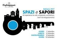 Programma Spazi e Sapori 2017 - Website
