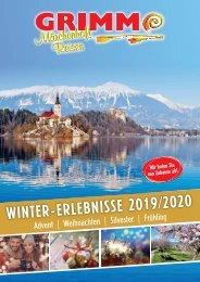 GRIMM-Reisen Winterkatalog