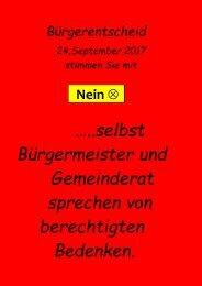 Bürgerentscheid Plakat 1