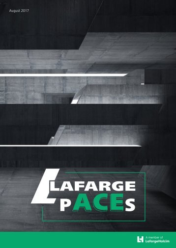 Lafarge Monthly Newsletter - August 2017