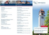 Fachtagung Radiologie - UKSH Universitätsklinikum Schleswig ...