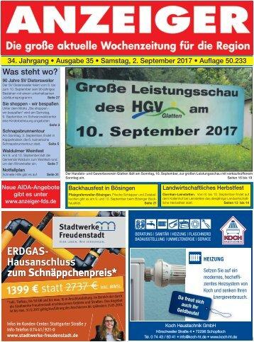Anzeiger Ausgabe 35/17