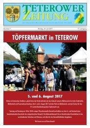 Teterower Zeitung 24.07.2017