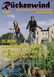 1/2007 - ADFC Bonn/Rhein-Sieg - (ADFC), Kreisverband Bonn ...