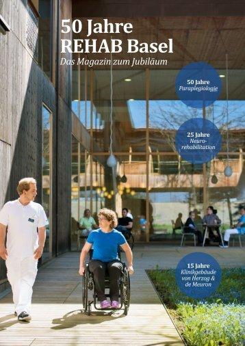 REHAB Basel Kundenmagazin