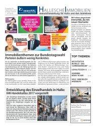 Hallesche Immobilien Zeitung - Ausgabe 66, September 2017