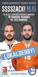 SSSSZACK! HGHB vs. HSV Hamburg