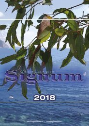 Catalogo Signum 2018