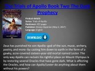 [PDF] Download The Trials of Apollo Book Two The Dark Prophecy