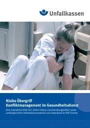 Risiko Übergriff - Konfliktmanagement im ... - Unfallkasse NRW