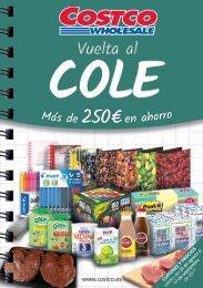 Catálogo Costco Vuelta al cole hasta 17 de Septiembre 2017