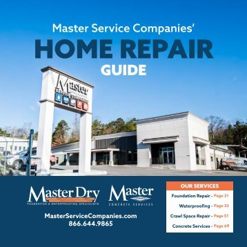 Master Service Companies' Home Repair Guide