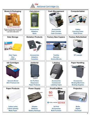 Office Automation Supplies
